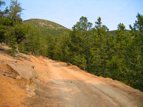 Baldy Peak, the south...