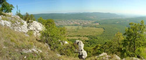 View from Pilis