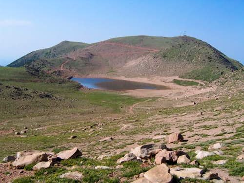 Stratton Reservoir and Baldy,...
