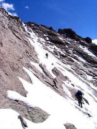 jhansen007 leading the way up...