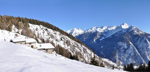 Faroma  Conge  Viou  Mountain Chain
