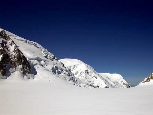 da sinistra: il mont blanc du...