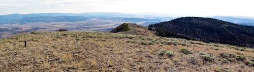 Elk Mountain Ridge Panorama