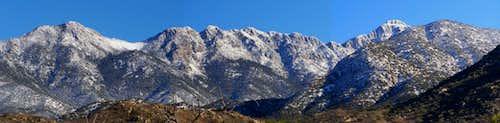Mount Wrightson Panorama