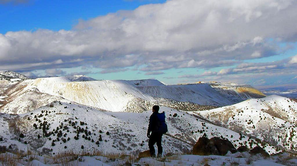 Where a beautiful mountain once stood
