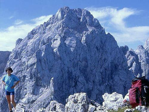 Ojstrica summit from...