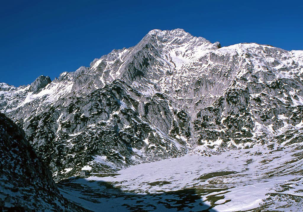 Ojstrica south ascent