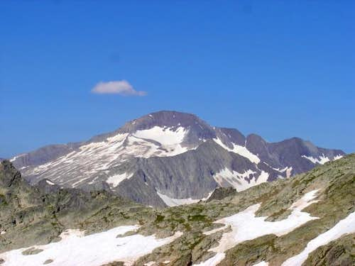 The Posets (3375m) from the...