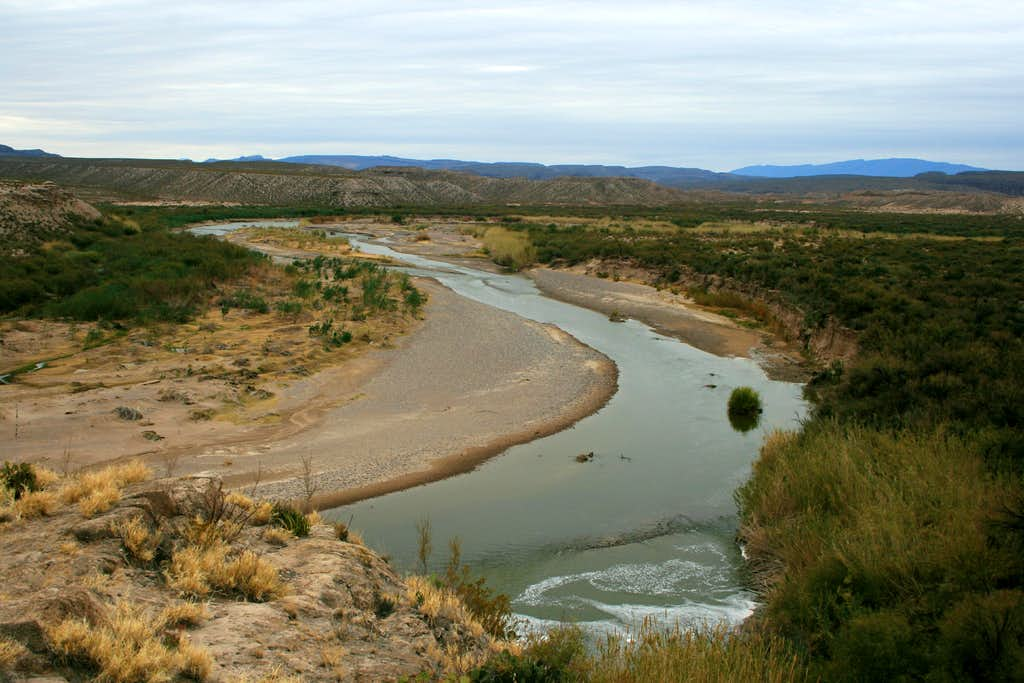 Looking West from Boquillas Canyon