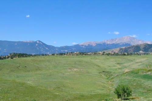 Almagre Mountain as seen from...