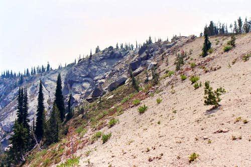 Ascending the North Ridge