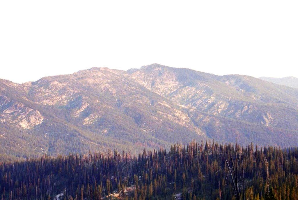 Elk Mountain from the Northwest