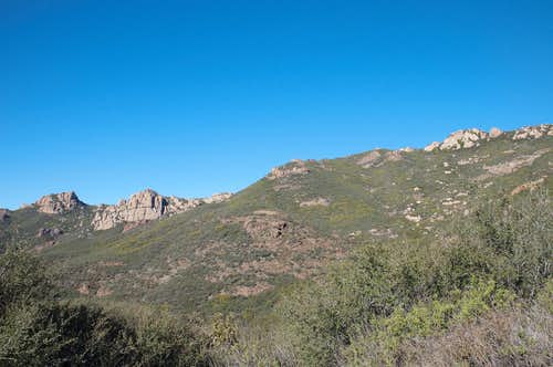 Exchange, Boney, and Sandstone Peak