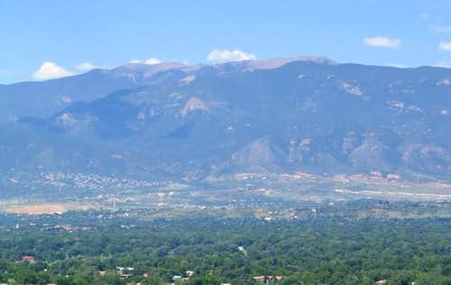 Almagre Mountain as seen from...