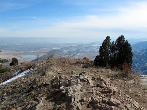 Summit of Mount Morrison