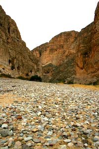 "Boquillas Canyon ""Trail"""