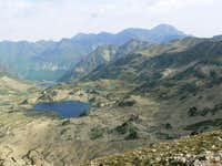 Lakes from Hourquette d Aubert