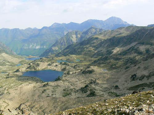 Lakes from Hourquette d'Aubert