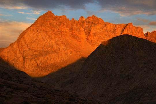 Evening light on Mt. Jordan