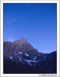 Crestone Needle at dawn --...