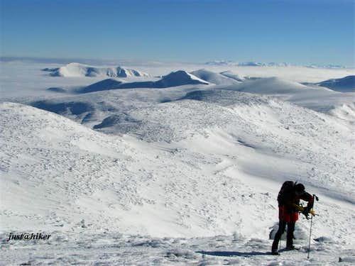 Vranica Snowshoeing