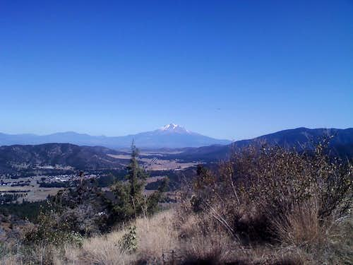 Mt. Shasta from Greenhorn Hill.