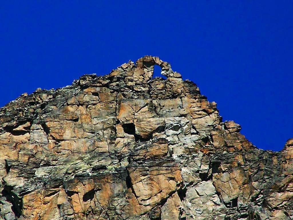 Punta Fourà - summital part
