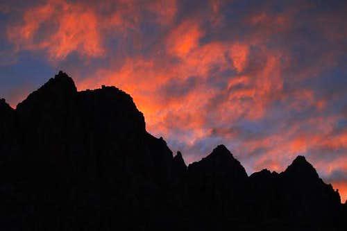 Sunrise Over The Miter