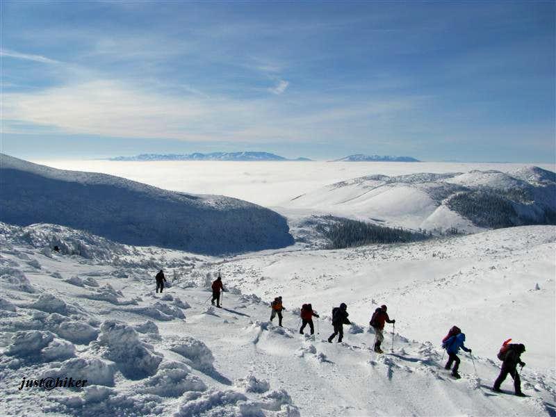 Hike over Vranica