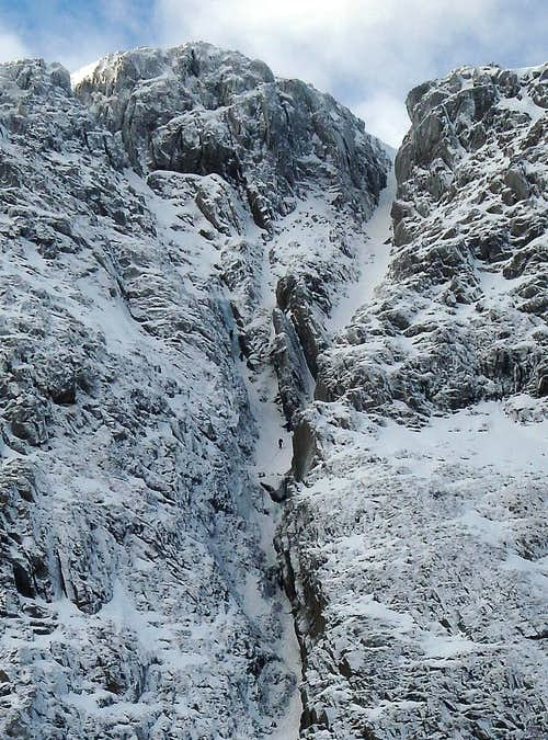 Central Gully, Great End