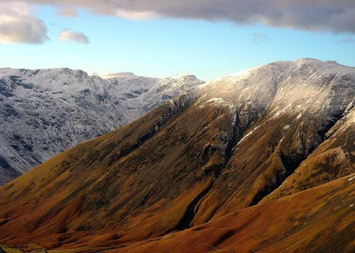 Pillar, Kirk Fell and Wasdale