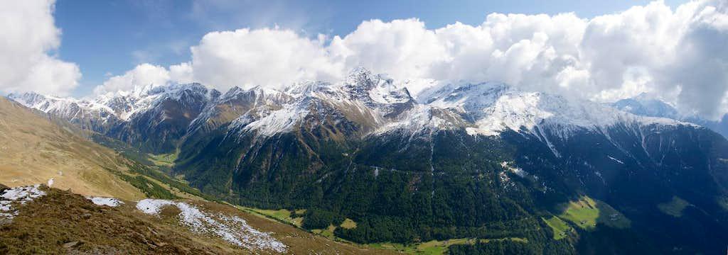 Saldurkamm above Matscher Tal