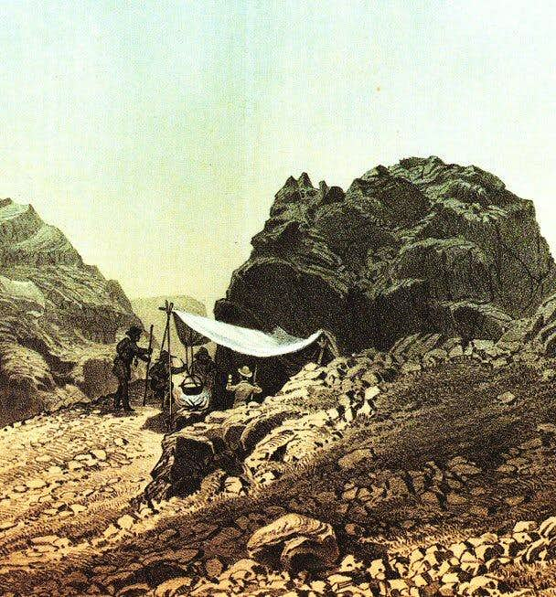 Bivouac on the Wetterhorn