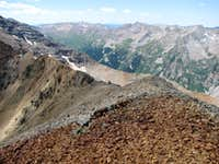 """Electric Pass Peak"" Ridgeline"