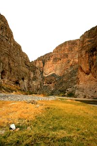 The Rio Grande Enters Boquillas Canyon