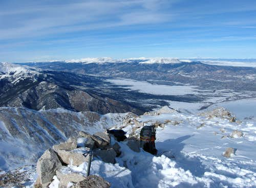 North from Mt. Princeton