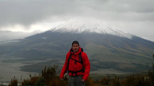 Cotopaxi in the background