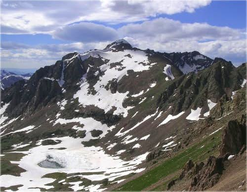 """Grand Traverse Peak"" from..."