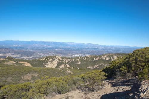 Near Sandstone Peak Summit