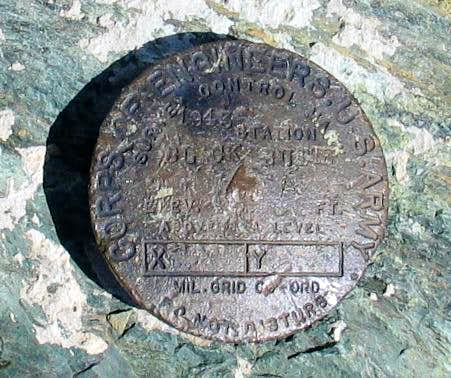 Black Butte Benchmark (CA) Glenn Cohp