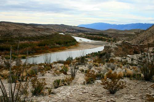 Chihuahua Desert and Rio Grande