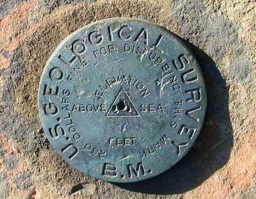 Carpenter Hill Benchmark (CA)