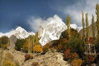 Ladyfinger and Ultar Peak Karakoram Range