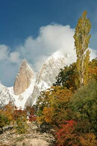 An other view of Ultar Peak and Ladyfinger Karakoram Range.