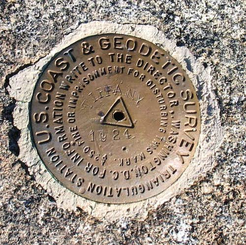 Tiffany Mtn Benchmark (WA)
