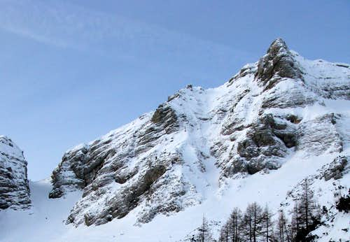 Part of Grebenec ridge...