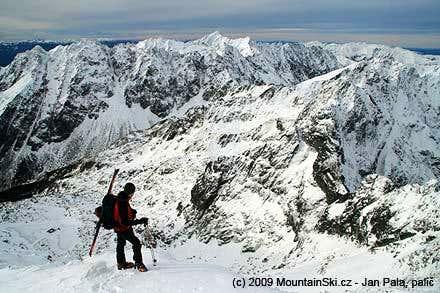 Near the summit of Rysy