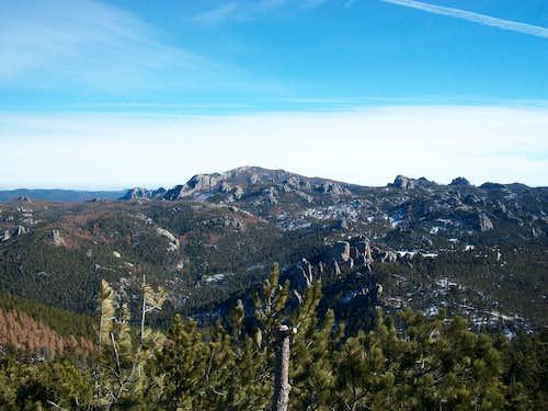 Summit of Sylvan Peak