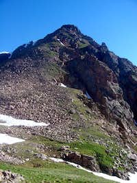 South Ridge from Bighorn Creek