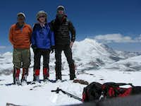 Three of us summited